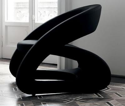 Smile chair by designer Marcello Ziliani