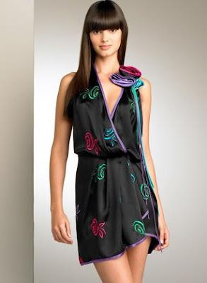 Prom Dresses Motif Flowers