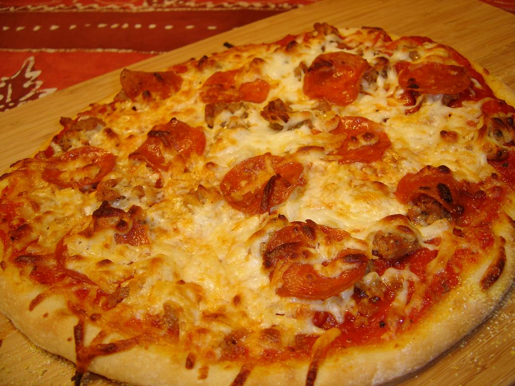 Daven's Blog: Homemade Pizza Made Easy