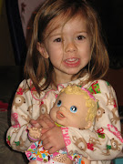 Lola had her best day ever Christmas morning when she opened the Baby Alive .
