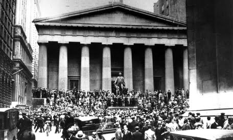 a history of black thursday the day that small crash occurred at the new york stock exchange An article on tuesday about the new york stock exchange's reaction to the congressional defeat of a financial rescue package misstated the length of a trading day.