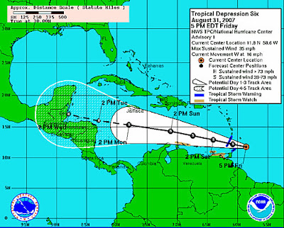 cdt TROPICAL STORM FELIX has been changed to TROPICAL DEPRESSION FELIX