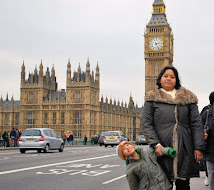 Us at the Big Ben, London