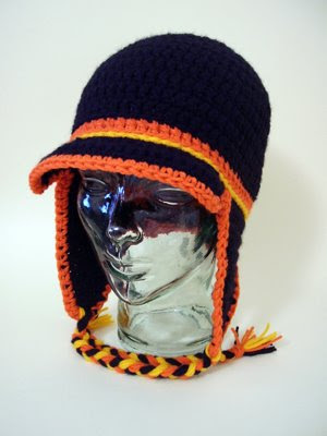 Knitting Pattern Beanie With Ear Flaps : SianaBanana s Knitting and Crochet: The Pacer - Beanie, Ear Flap & V...