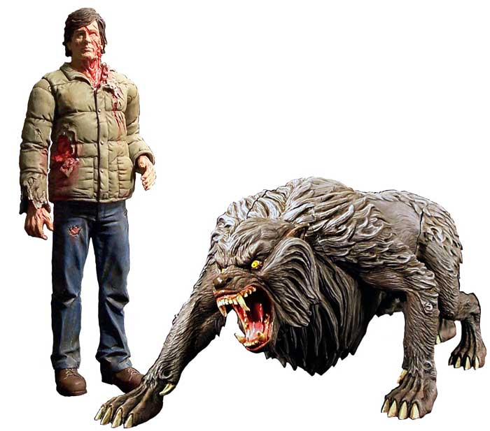Werewolf Toys For Boys : Cartoon and horror lost toys now playing series