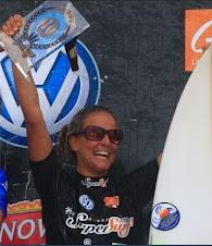 A campeã do SuperSurf 2009, em Ubatuba