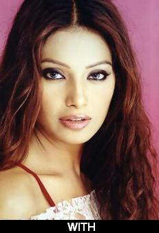 Bipasha with makeup