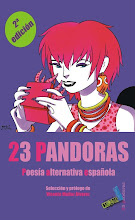 23 PANDORAS: Poesía alternativa española