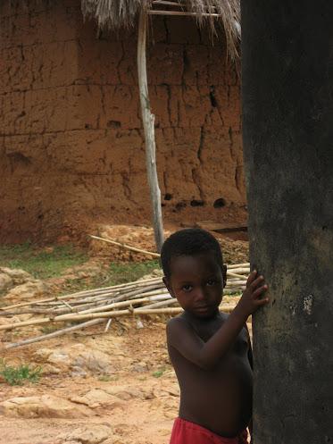 Kleuter in Agbenoxoe