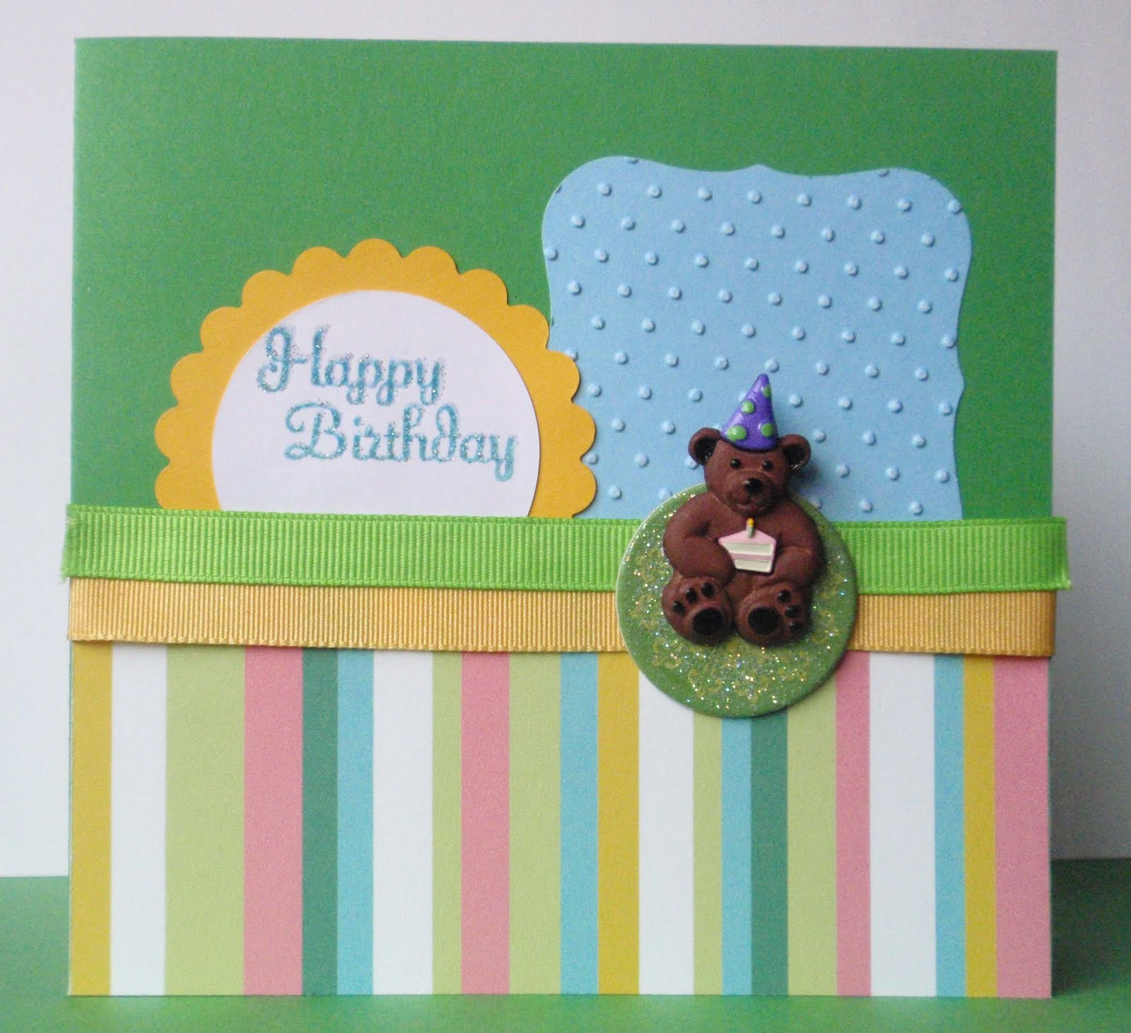 Tarjeta de cumpleaños / Happy birthday card | De Scrapbook & Animales ...