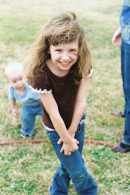 Morgan, age 7