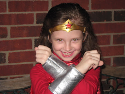 Morgan as Wonder Woman