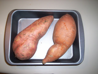 Peel and mash the potato. Set aside 3/4 cup and let cool completely ...