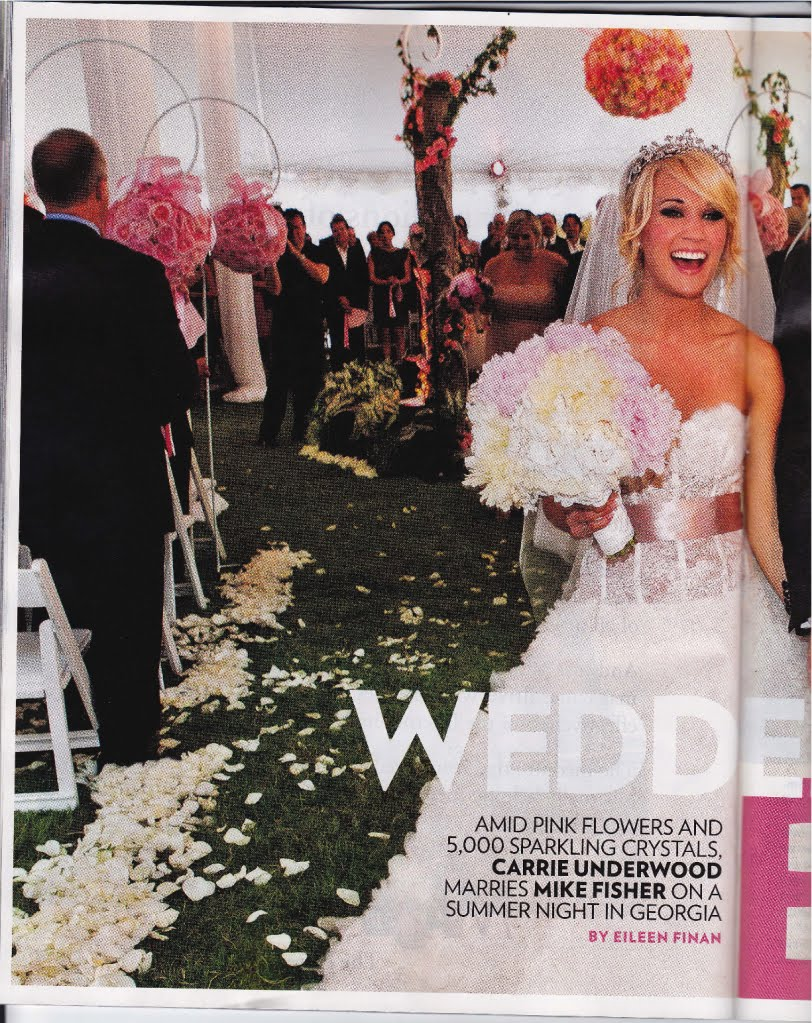 Carrie underwoods wedding in people jimmy choos tennis shoes junglespirit Choice Image