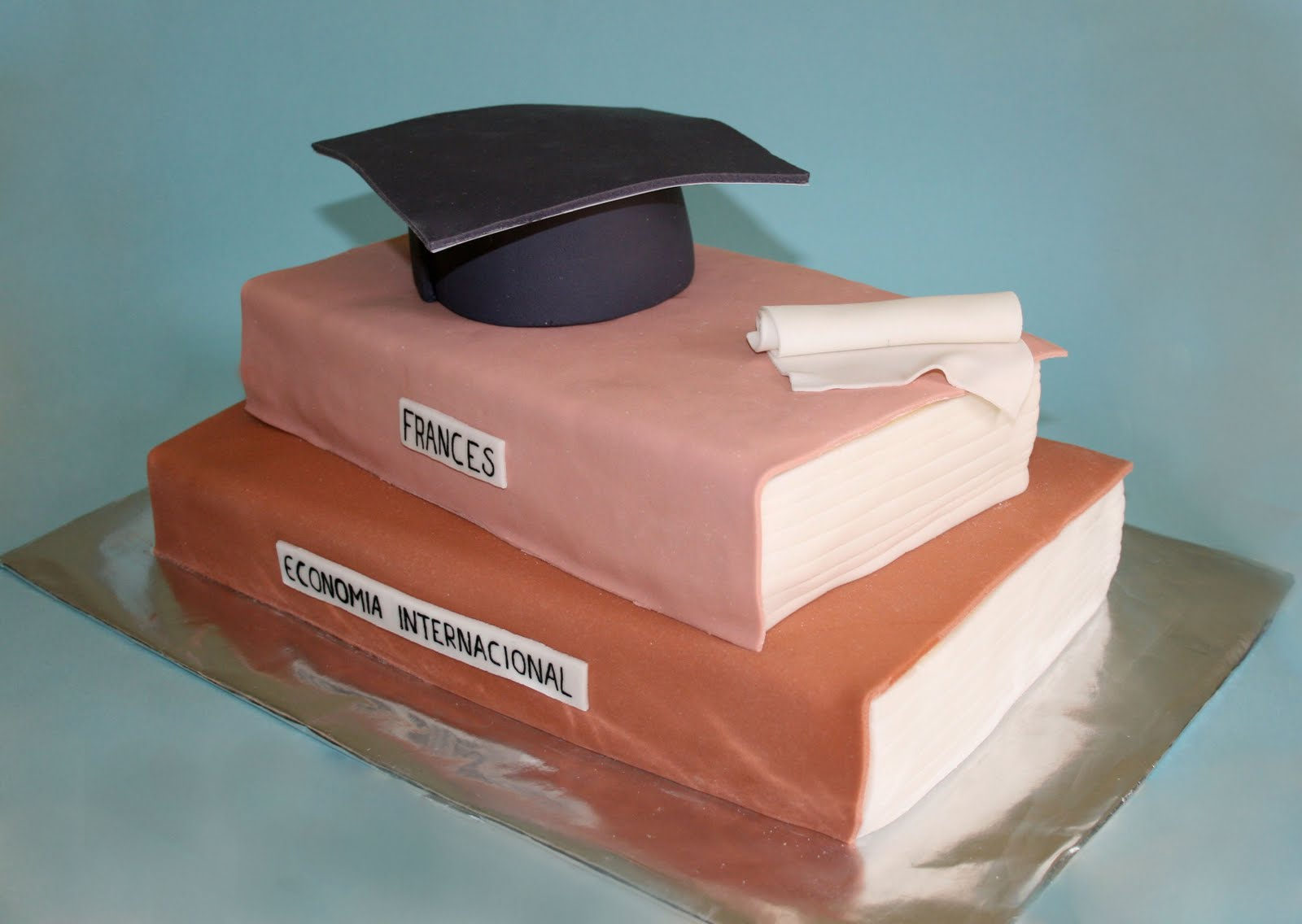 pastel de graduaciГіn