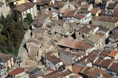 L'Aquila, 6/4/09. Credits: Repubblica