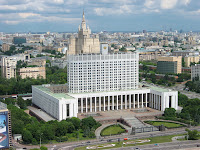 Russian White House in Moscow