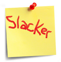 slacker post-it note
