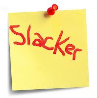 slacker post-it note