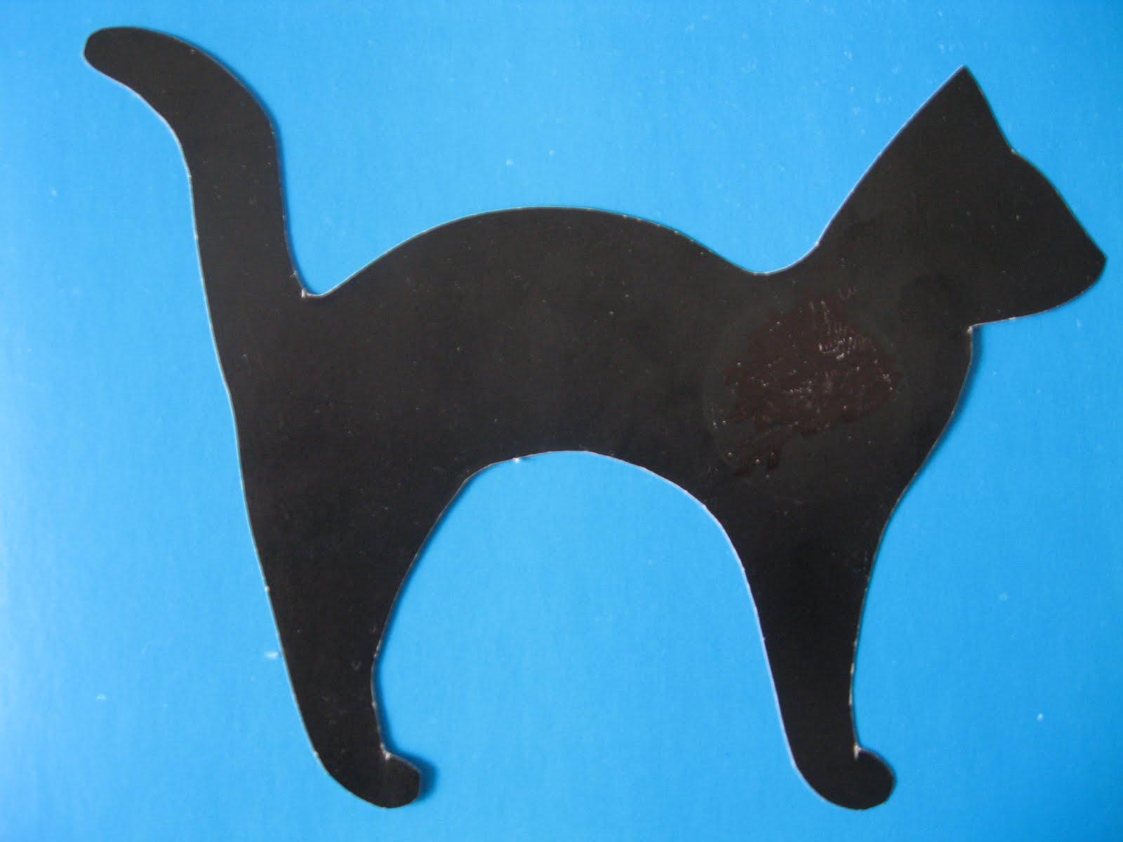 Ушки для кошки из картона