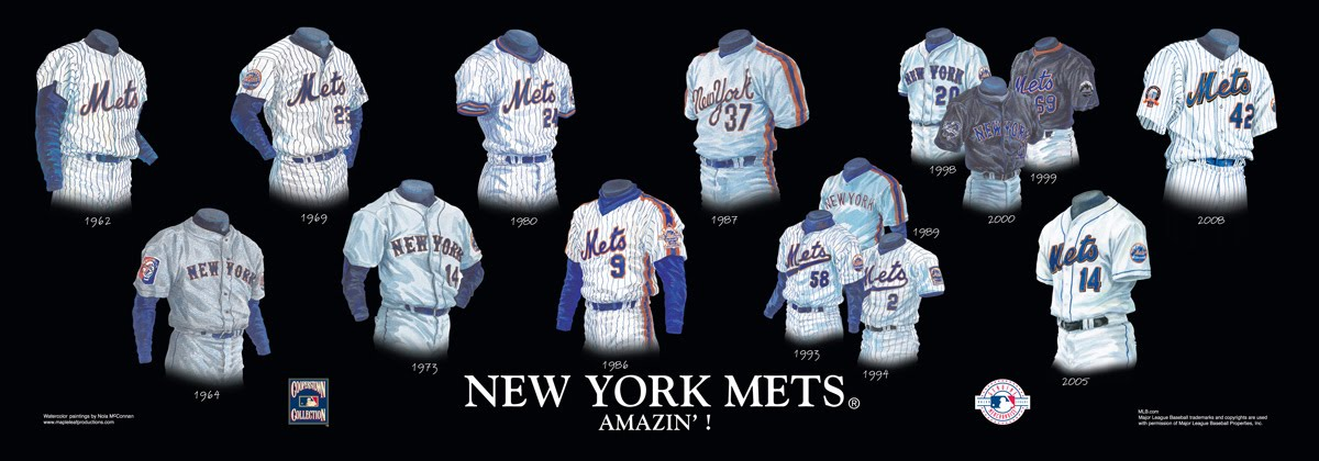 Please click on the evolution of the mets uniform poster above for a