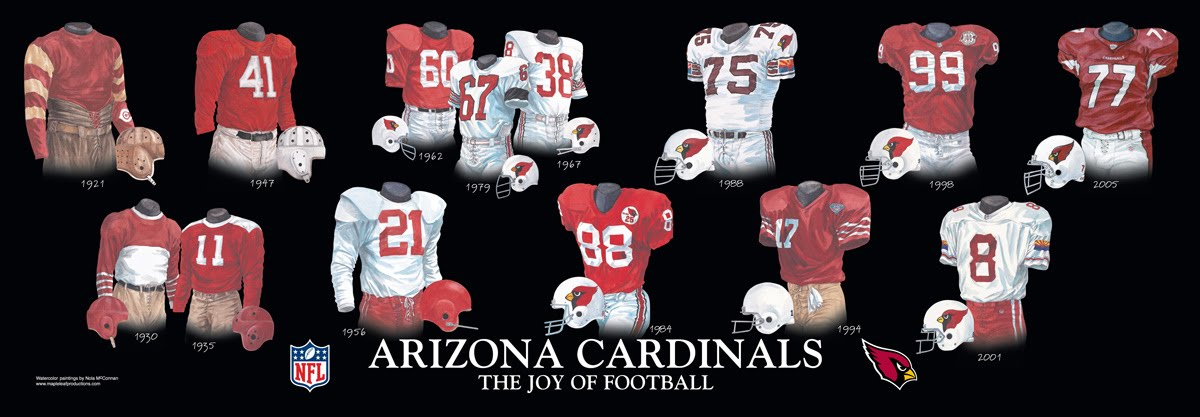 Arizona Cardinals Uniform And Team History