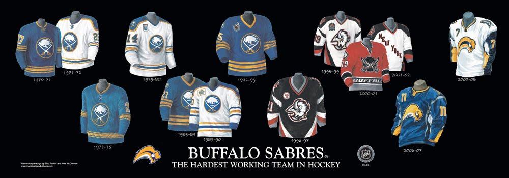 Buffalo Sabres Franchise Team Arena And Uniform