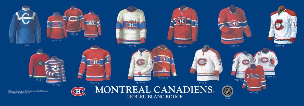 Habs (Canadiens) Logo History