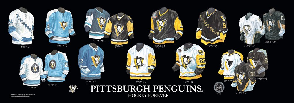 Pittsburgh Penguins Jersey History