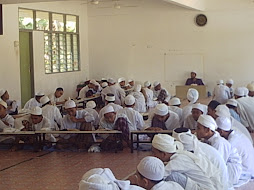 SUASANA DIDALAM KELAS HAFIZ