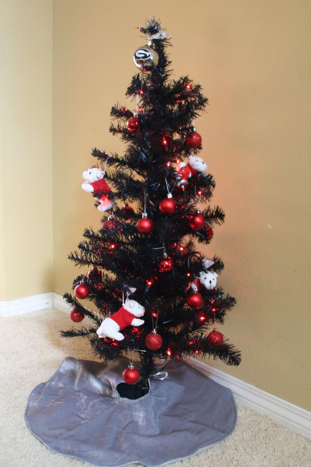 Brilliant 4 Ft Red Christmas Tree Photo Album Home Design Ideas Easy Diy Christmas Decorations Tissureus