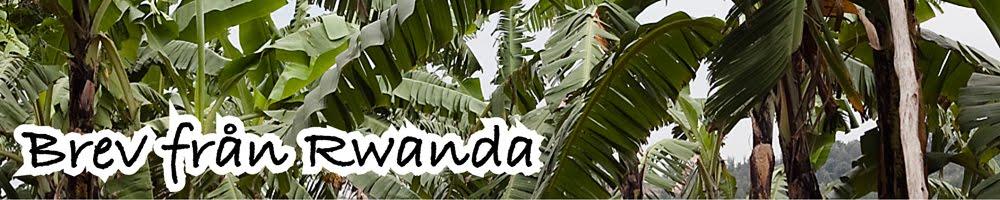 Brev från RWANDA