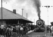 Tren arribando a Curacautin