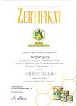 Bal üretim Zertifikası