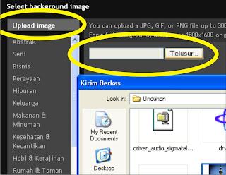 Mengganti Background Lebih Mudah di Template Designer
