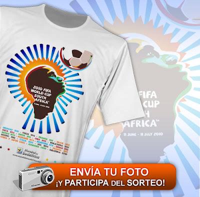 Sorteo Camiseta Mundial Sudafrica 2010