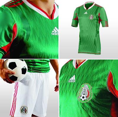 Camiseta Playera Mexico Mundial 2010 - Detalles