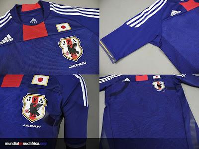 Camiseta Japón Mundial Sudáfrica 2010 - Titular