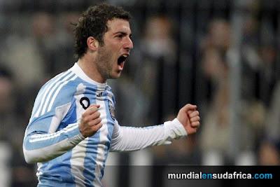 Argentina 1 vs Alemania 0, Pipita Higuain