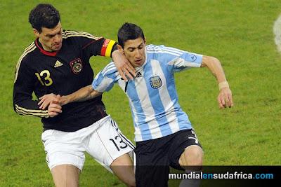 Argentina 1 vs Alemania 0, Di Maria