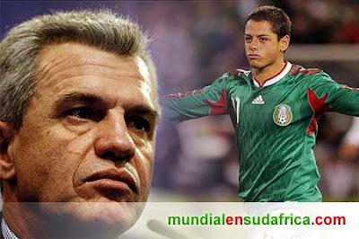 Lista de Pre-Seleccionados de Mexico pensando en el Mundial de Sudáfrica