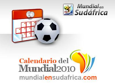 Calendario Cuartos de Final - Tercera Fase del Mundial