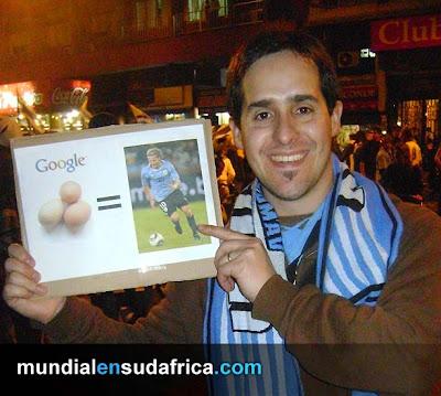 Uruguayos apoyaron a la Celeste pese a la derrota ante Holanda