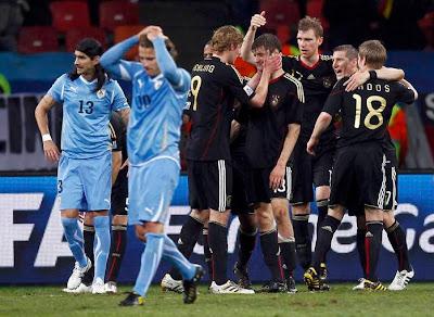 Alemania es bronce, Uruguay muestra su corazón de acero