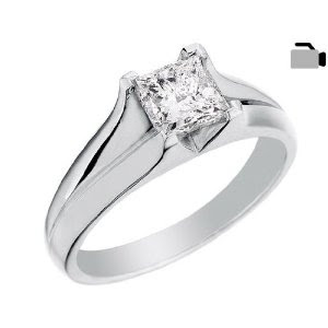 14k White Gold 1 3 Ctw Diamond Wedding Ring Set