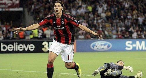 Zlatan Ibrahimovic scored goal