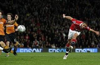 skor Manchester United vs Wolverhampton
