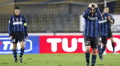 skor hasil Chievo vs Inter Milan