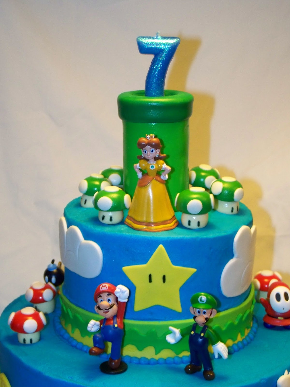 Super Mario Marshmallow Cake Ideas And Designs