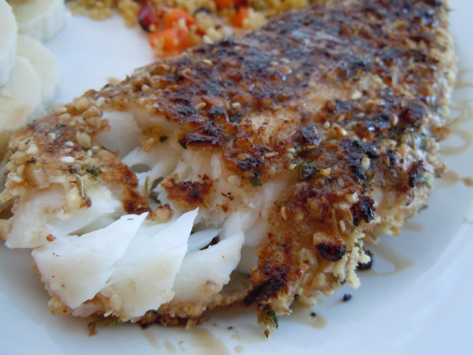Fish Food Favorites: Nut-Crusted Orange Roughy